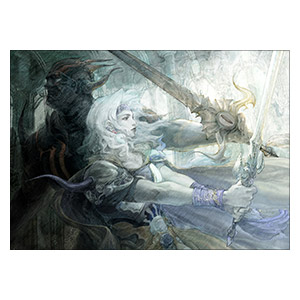 Final Fantasy. Размер: 42 х 30 см